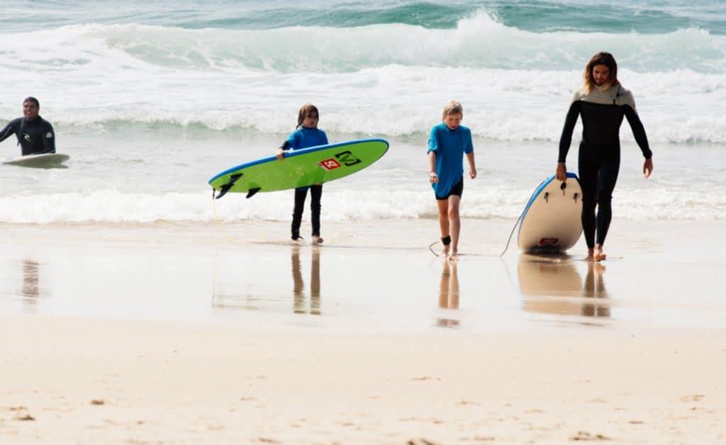 France Mimizan Surflife Family beach