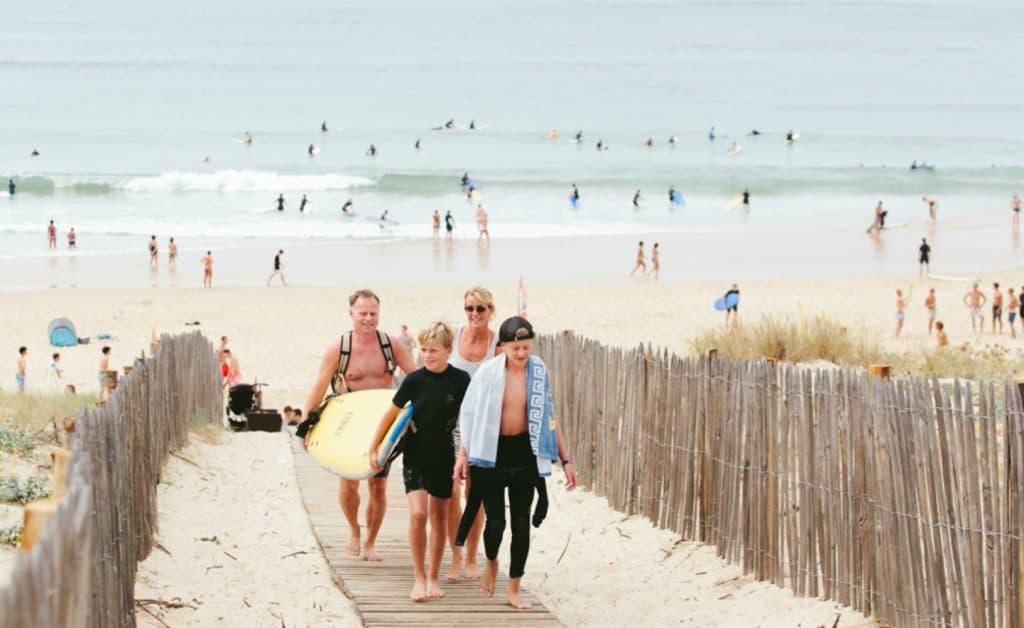 France Mimizan Surflife Family beachlife