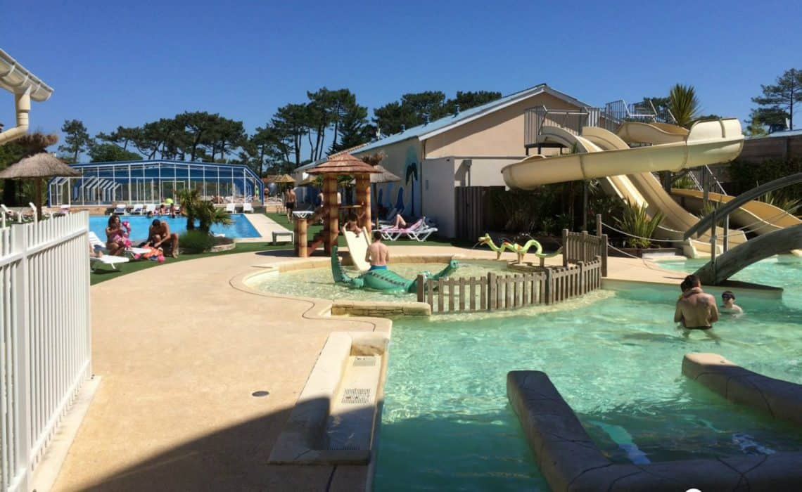 France Mimizan Surflife Family pool