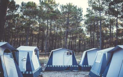 France O'Neill Surflife Carcans Bungalow tent 1