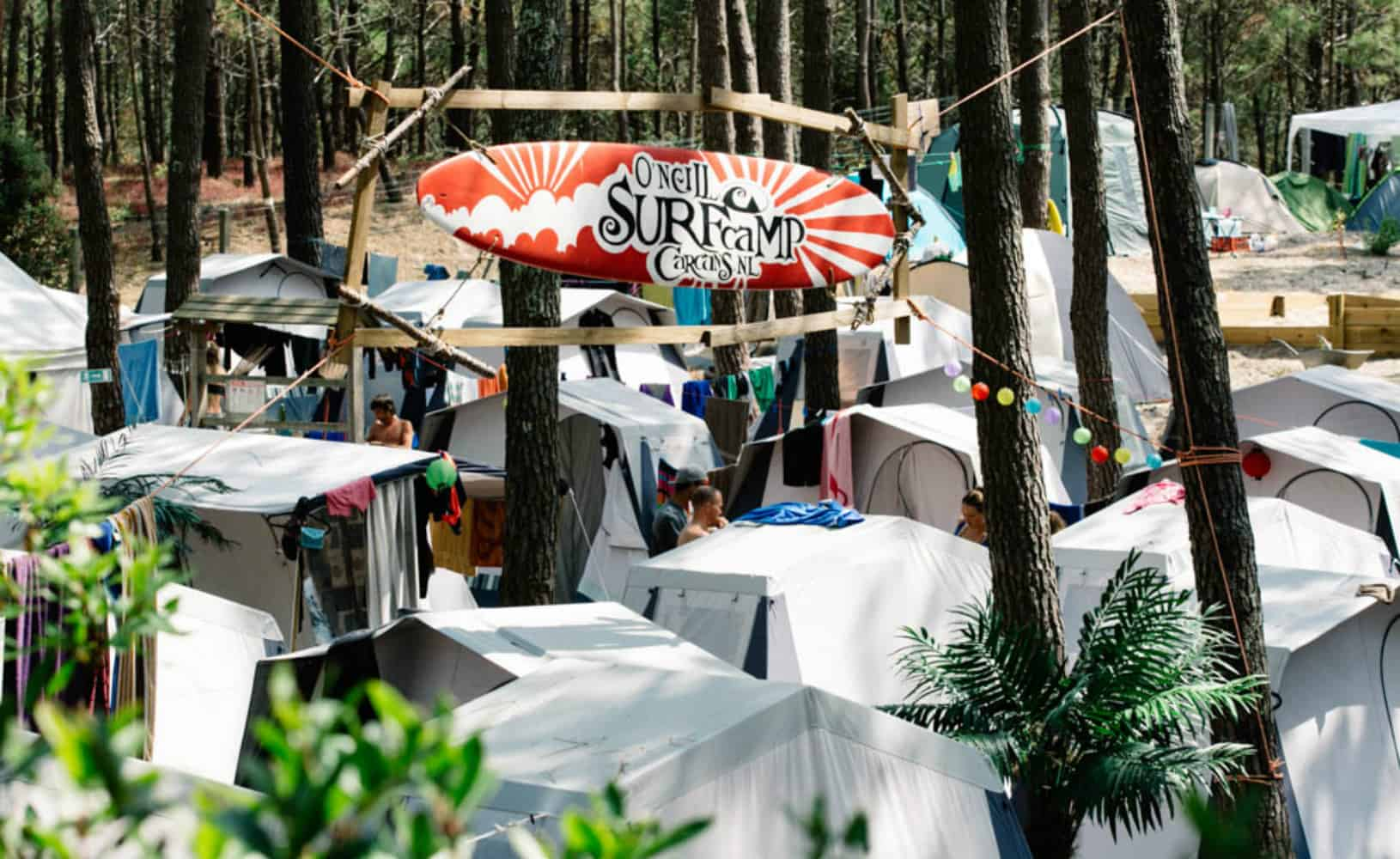 France O'Neill Surflife Carcans Camp overview