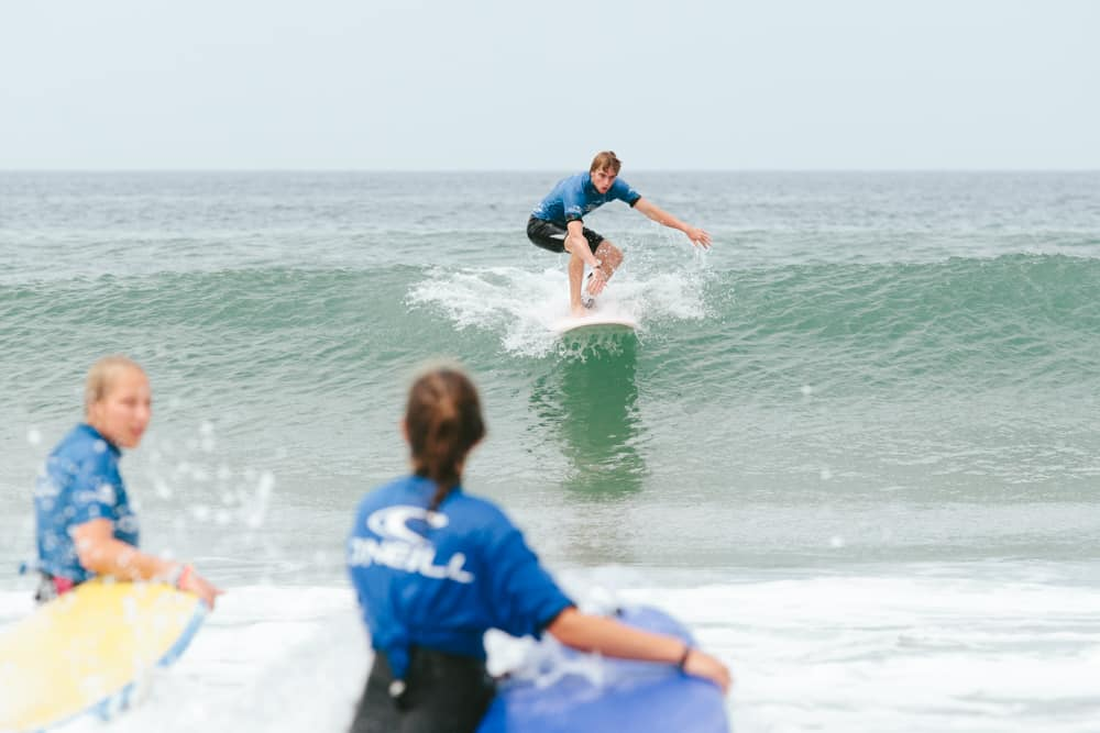 France O'Neill Surflife Carcans Surf lessons take off