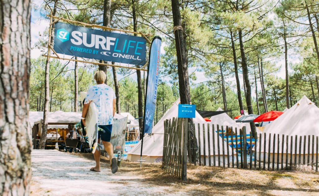 France Surflife Family Carcans Camp Entrance