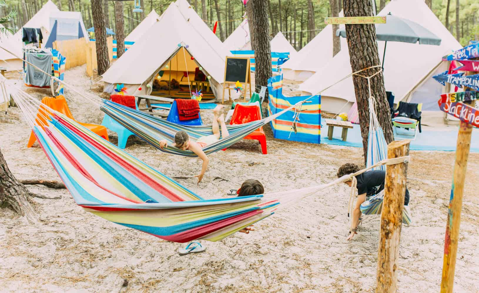 France Surflife Family Carcans family camp overview