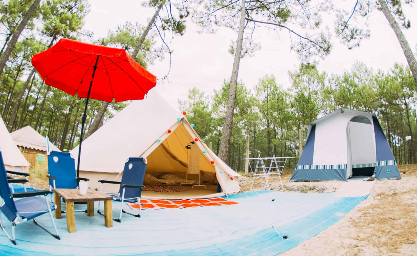 France Surflife Family Carcans tipi en bungalow