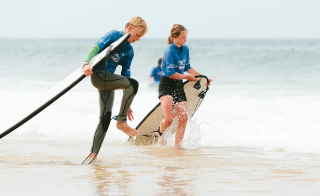 France Surflife Family Mimizan Surflessons kids