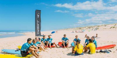 France Surflife O'Neill Surfcamp Mimizan Surf lessons 2
