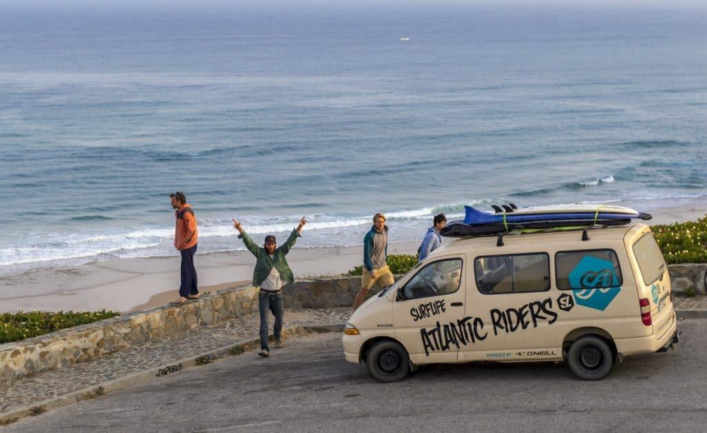 Portugal Aljezur Surflife Family Surf Van