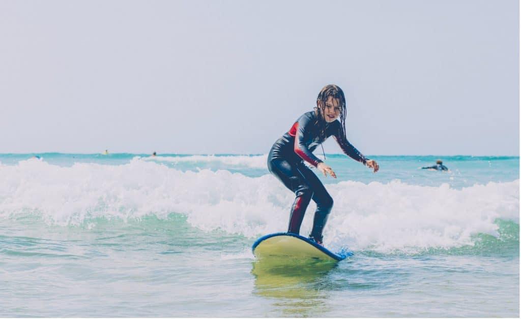 Portugal Aljezur Surflife Family Surf girl