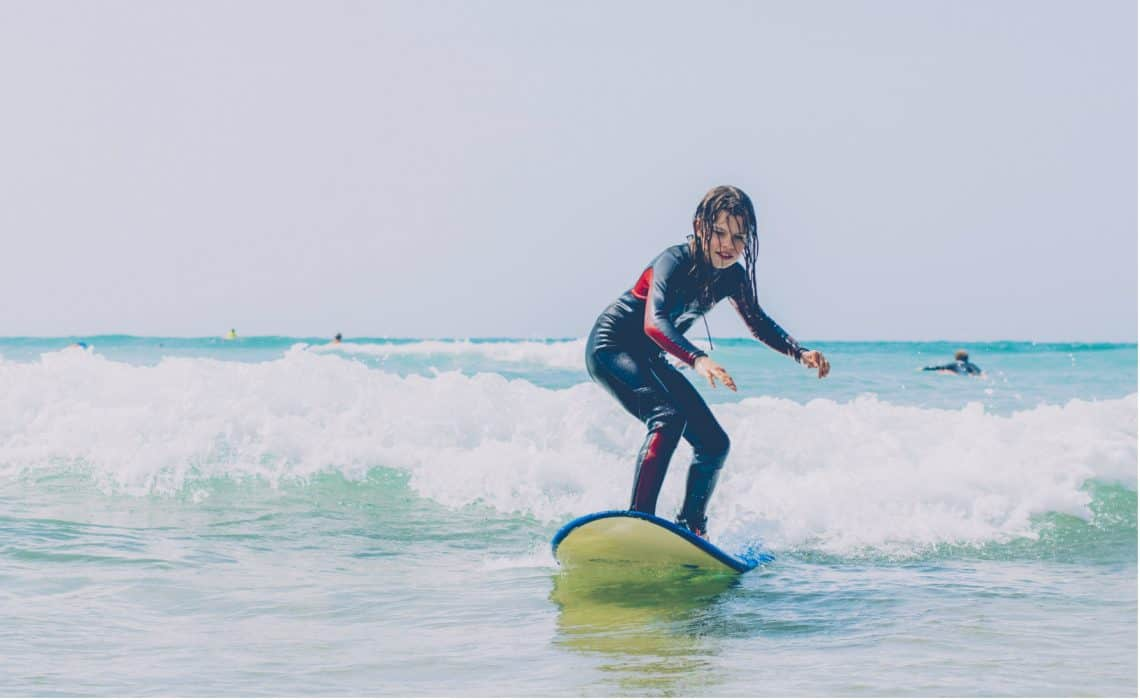 Portugal Aljezur Surflife Family Surf girl