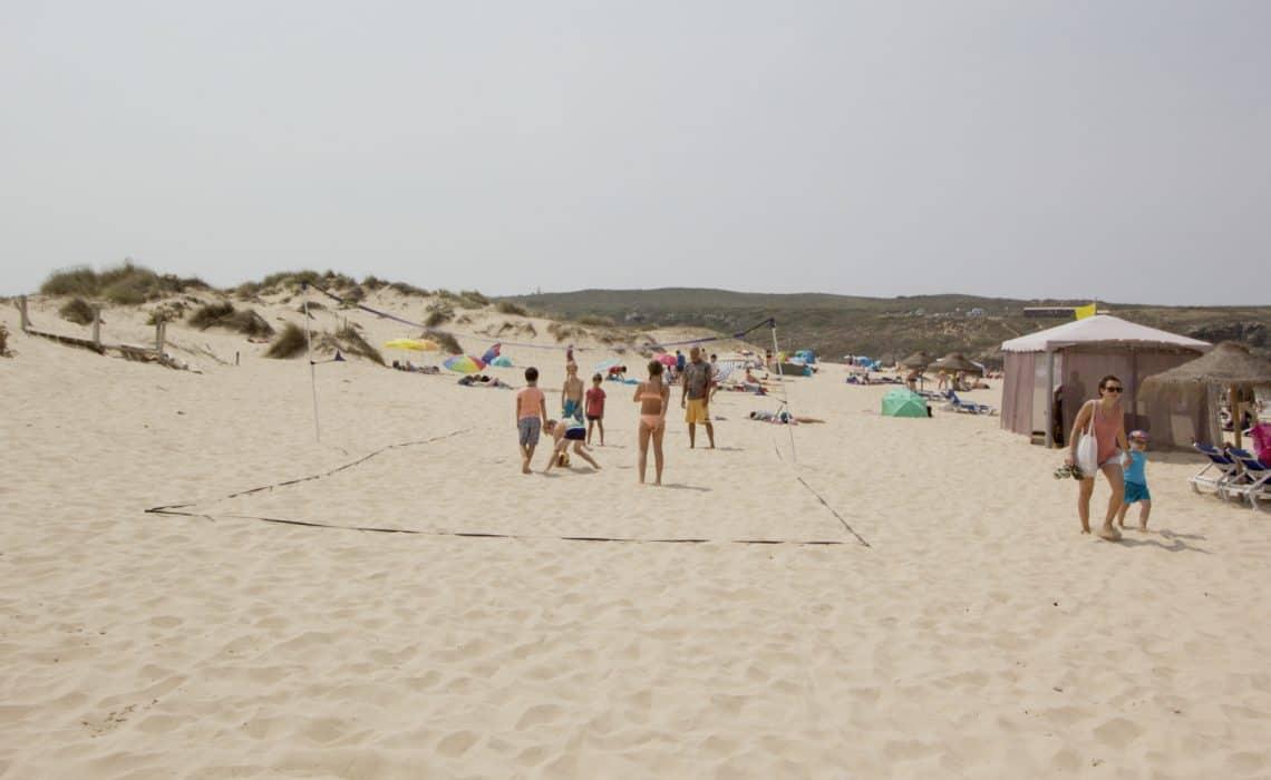 Portugal Aljezur Surflife Family beachvolley