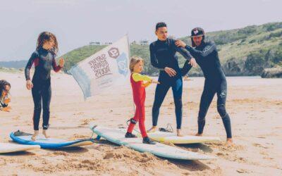 Portugal Aljezur Surflife Family kids lesson