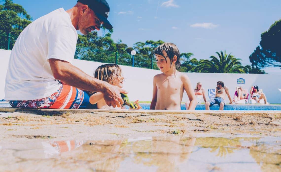 Portugal Aljezur Surflife Family swimmingpool