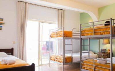 Portugal Atlantic Lodge Room 206 - Shared Mixed window