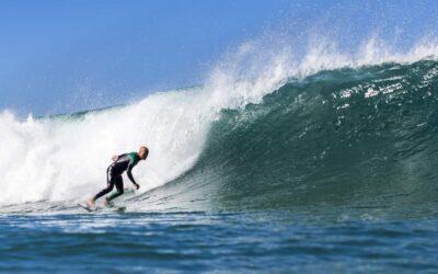 Portugal Surflife Atlantic Riders Surf Monte Clerigo bottom turn