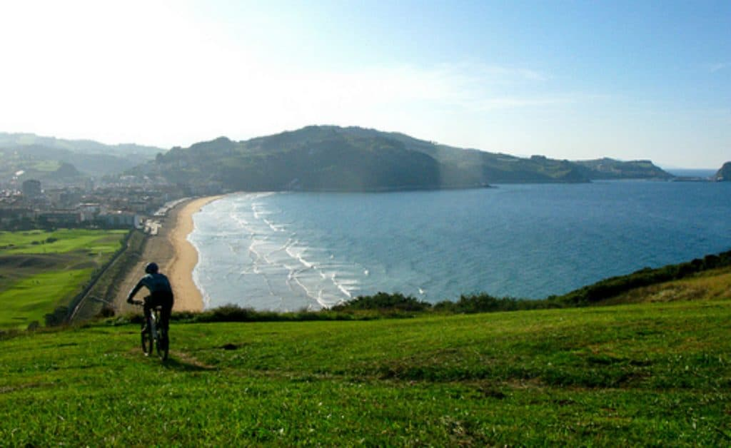 Spain Surf Village Zarautz Mountain Bike