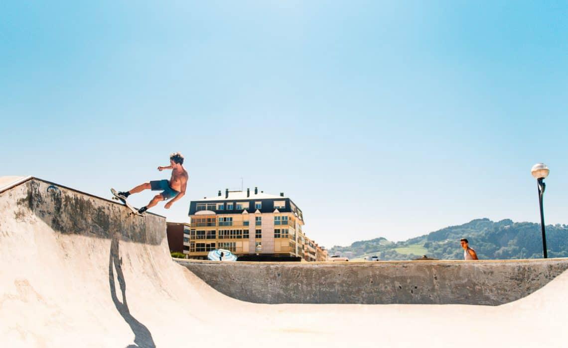 Spain Surf Village Zarautz Skate