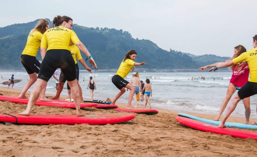 Spain Surf Village Zarautz Surf lessons 2