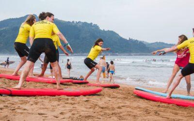 Spain Surf Village Zarautz Surf lessons 2