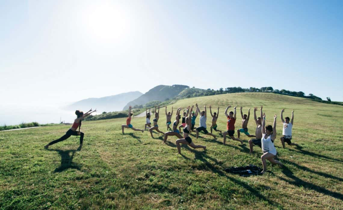 Spain Surf Village Zarautz Yoga 1