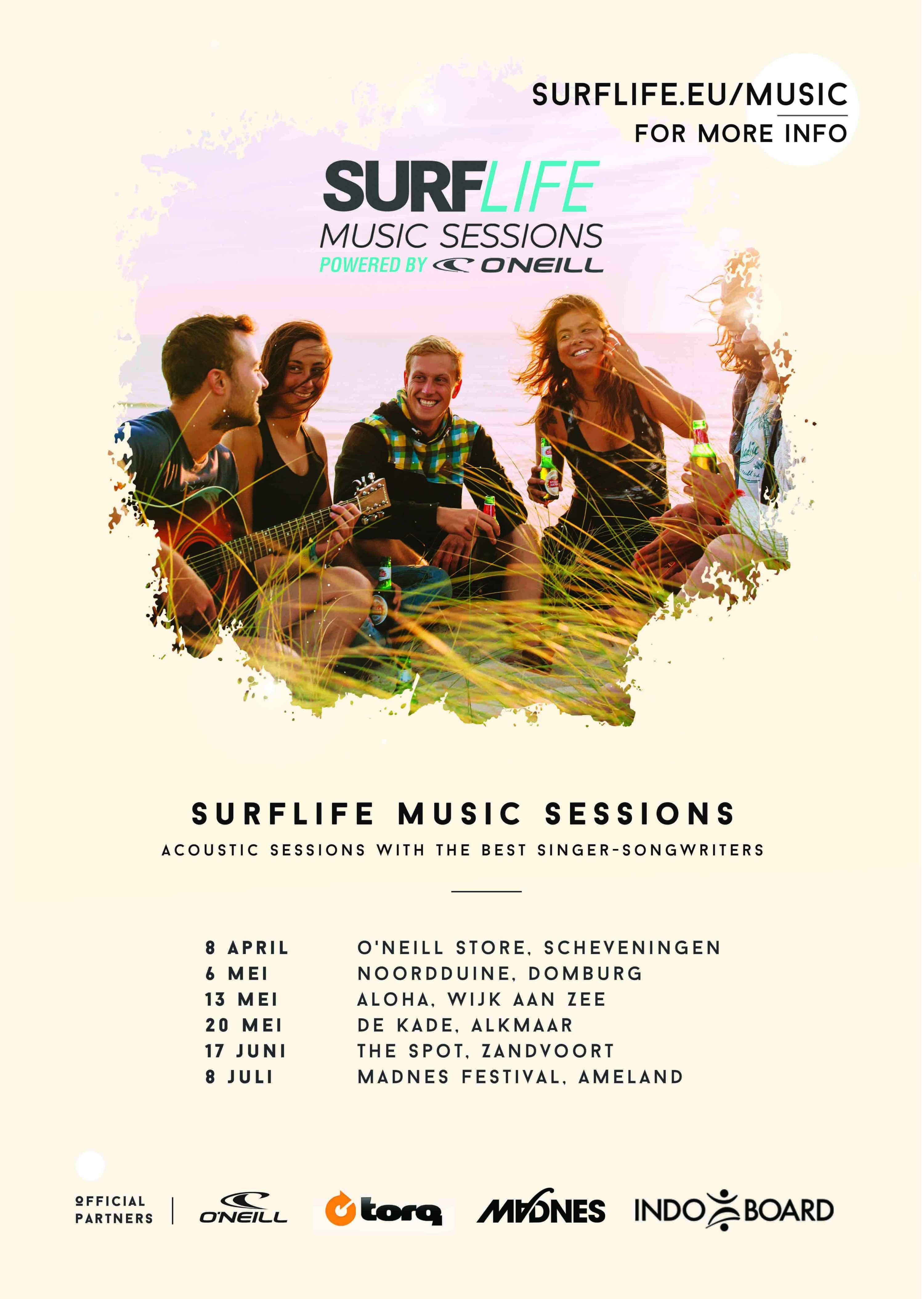 Surflife Music Sessions Surfvakanties