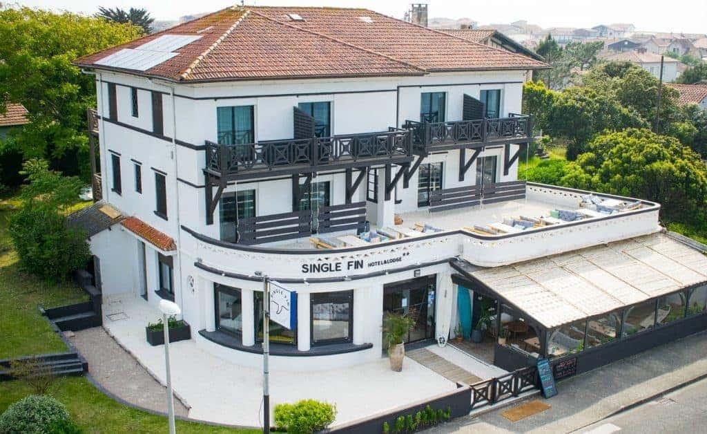 Single Fin Hotel Mimizan Frankrijk voor je perfecte surfvakantie