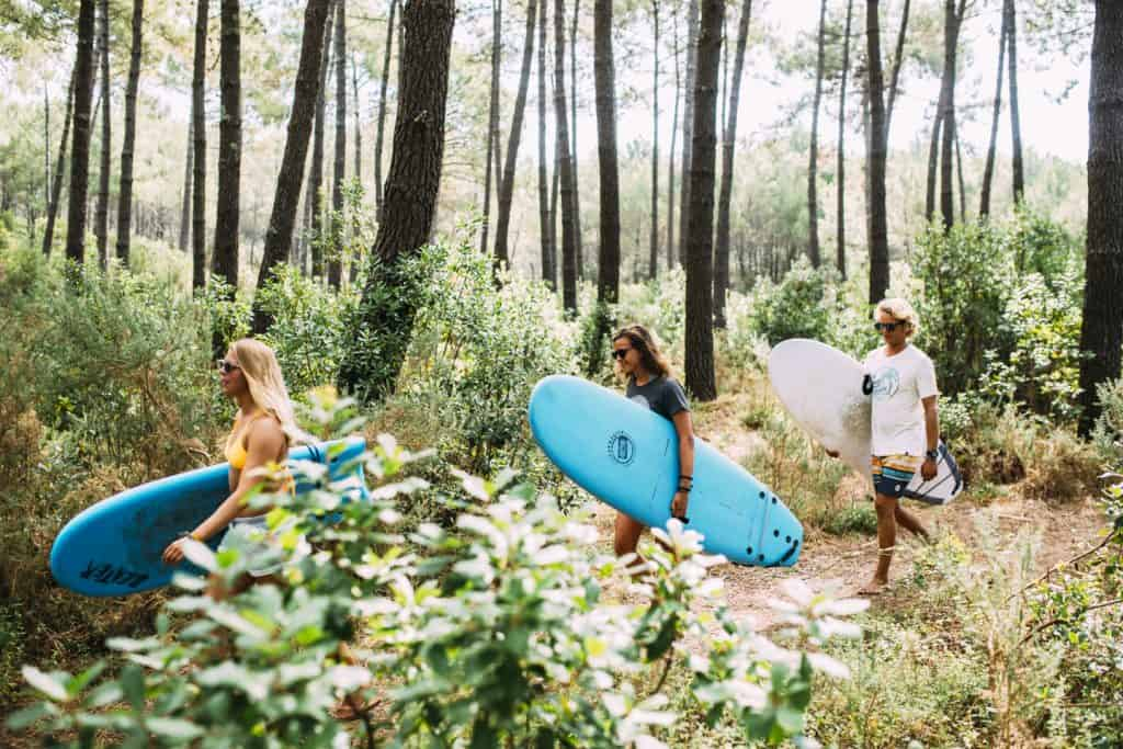 Surf en Yoga Retreat in Frankrijk Mimizan