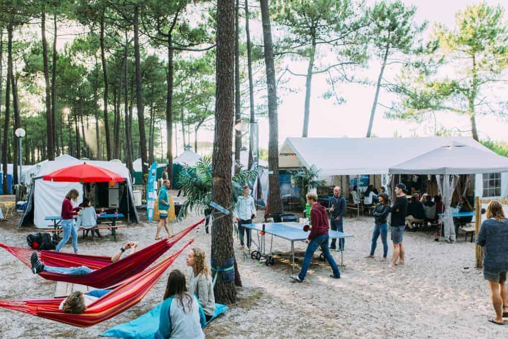 Surfcamp in Frankrijk
