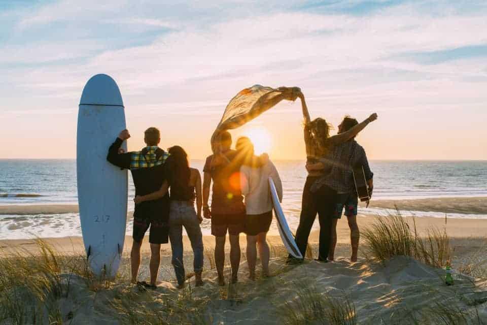 Surfvakantie is de nieuwe trend