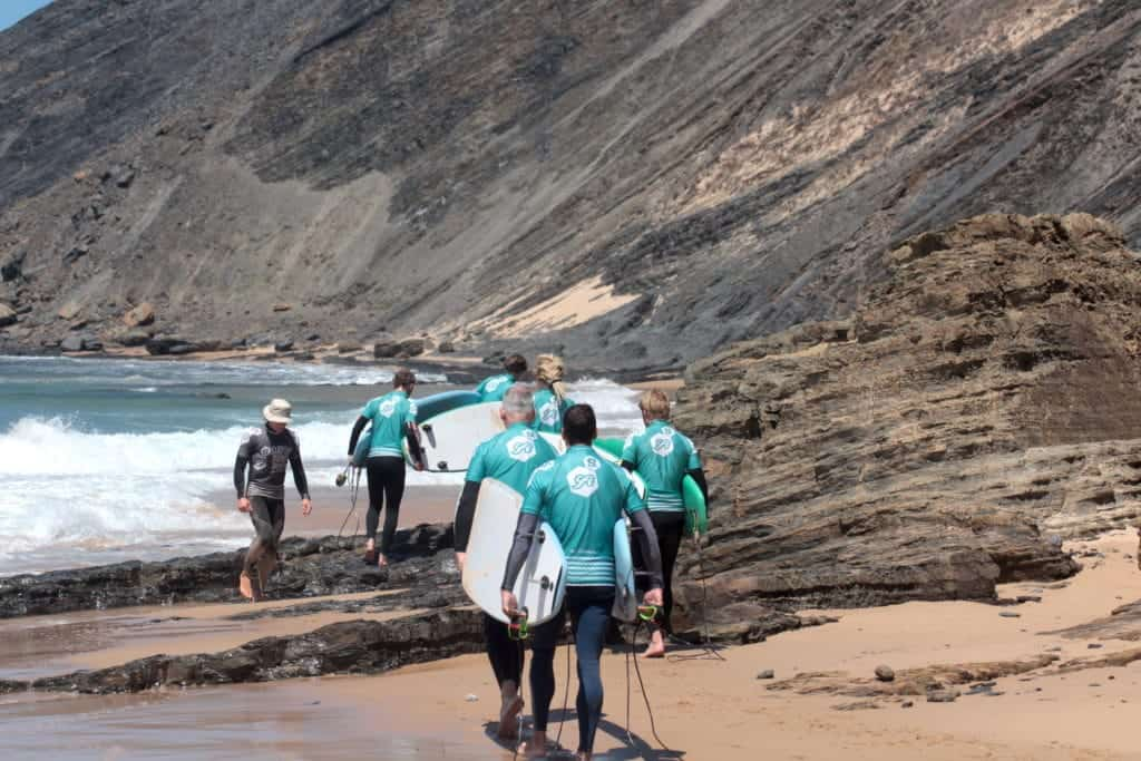 Portugal Surflife Atlantic Riders Surf Lessons