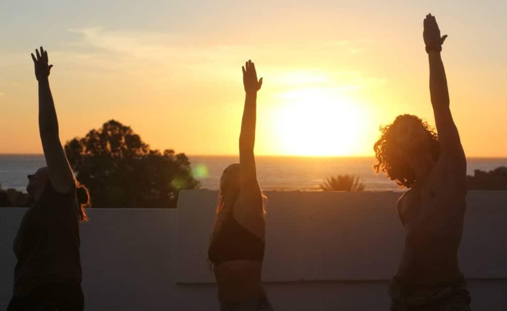 Morocco Chernaki Surf Experience Yoga