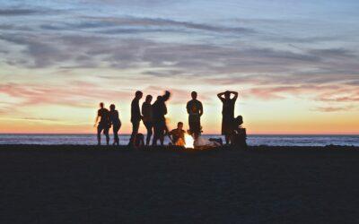 Morocco Chernaki Surf Experience activities Bonfire