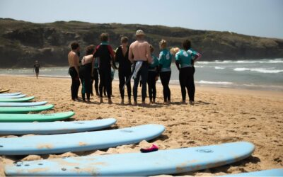 Portugal Atlantic Riders Surfschool surfboards