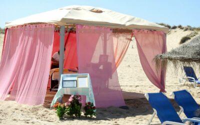 Portugal Atlantic Riders massage at the beach