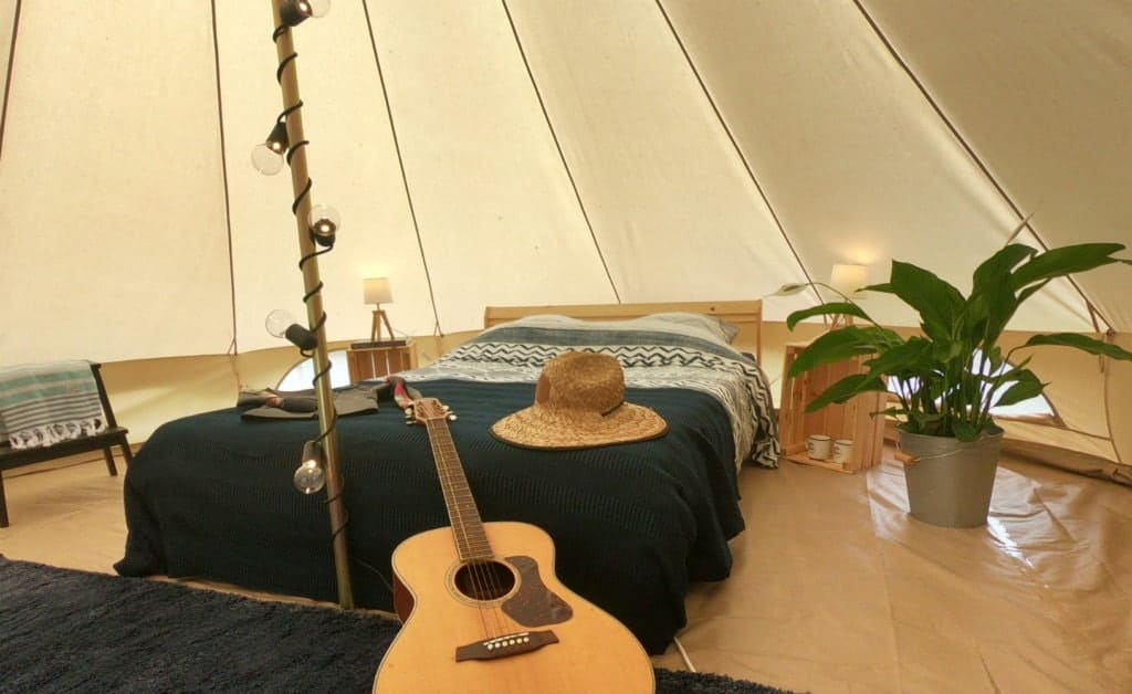 France Surflife Mimizan Deluxe 2 person Tipi 2