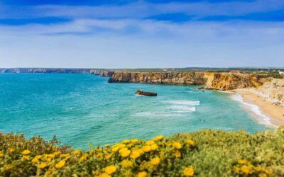 Portugal Algarve coastline beach