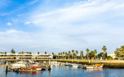 Portugal Algarve lagos marina