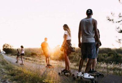 France O'Neill Surflife Carcans longboard skate