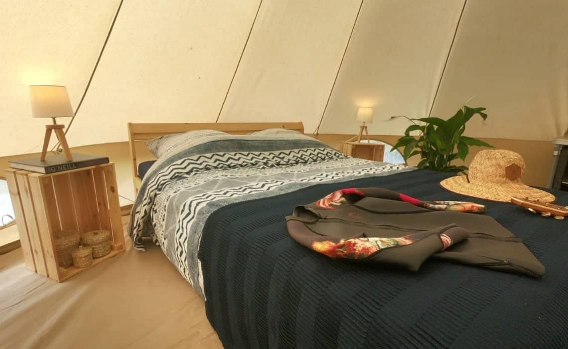 France Surflife Mimizan Deluxe 2 person Tipi 3