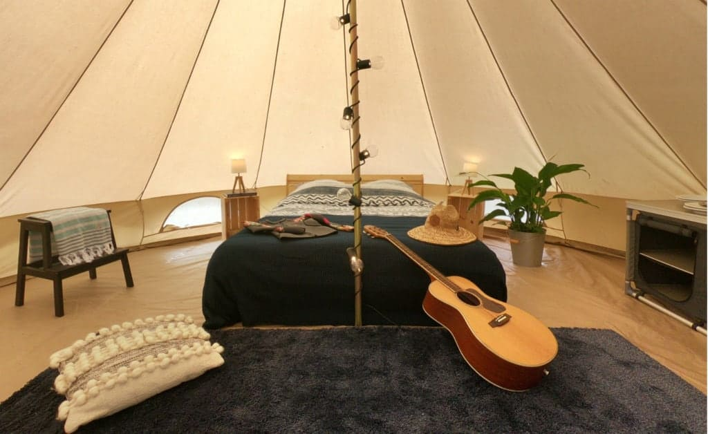 France Surflife Mimizan Deluxe 2 person Tipi 5