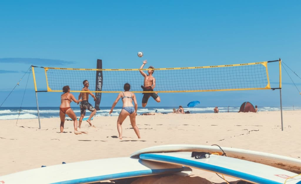 France Surflife Mimizan Deluxe dune volleybal