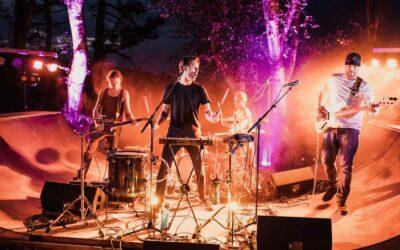 Spain Zarautz Surf Village live music