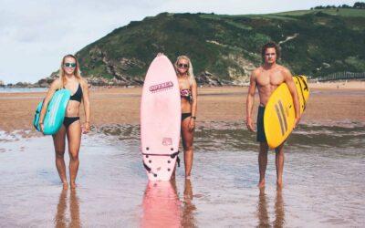 Spain Zarautz Surf Village surf
