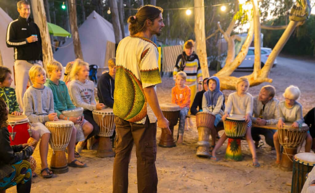 Surflife Family Portugal african drum night 1