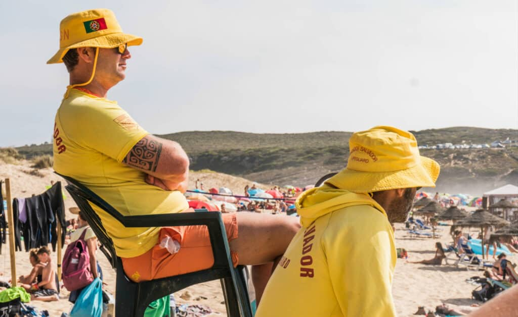 Surflife Family Portugal lifeguards