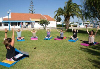 Surflife Family Portugal yoga