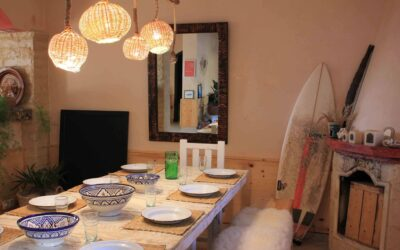 Surflife House Marokko 2020-diner table