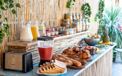 Surflife Family Mimizan breakfast buffet